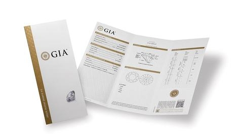 Diamond Grading Report from GIA
