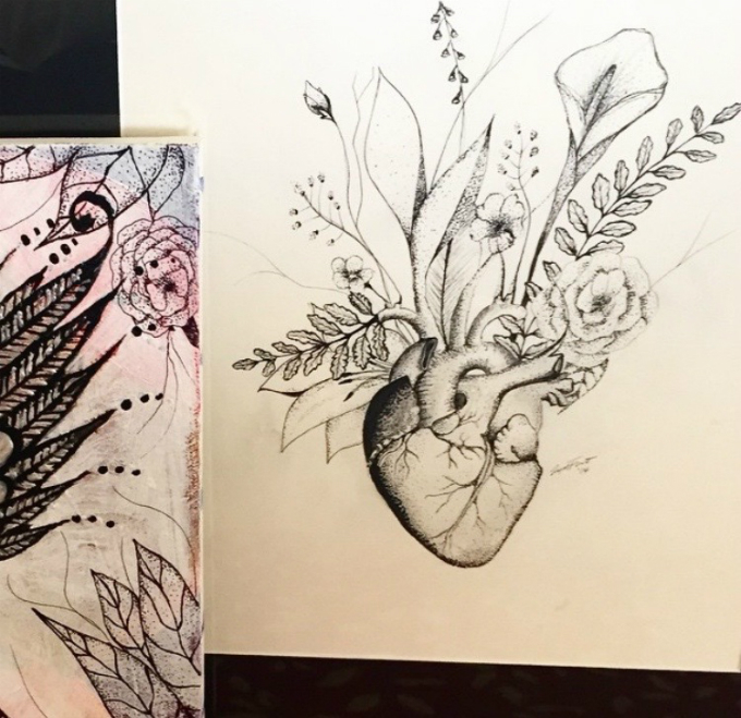 See more of Livia's Illustrations on her instagram page.
