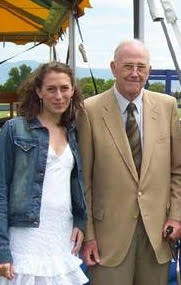 Rachel and her grandfather