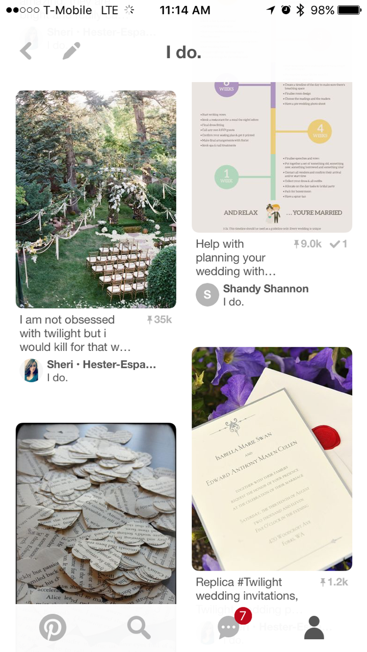 Pinterest and Engagement Rings