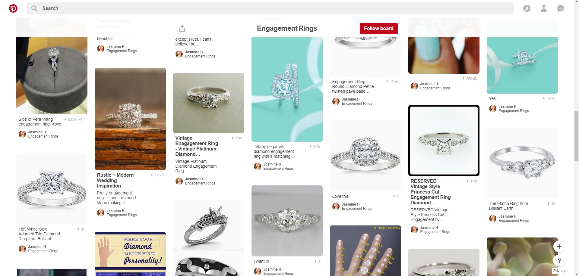 Pinterest Engagement Rings