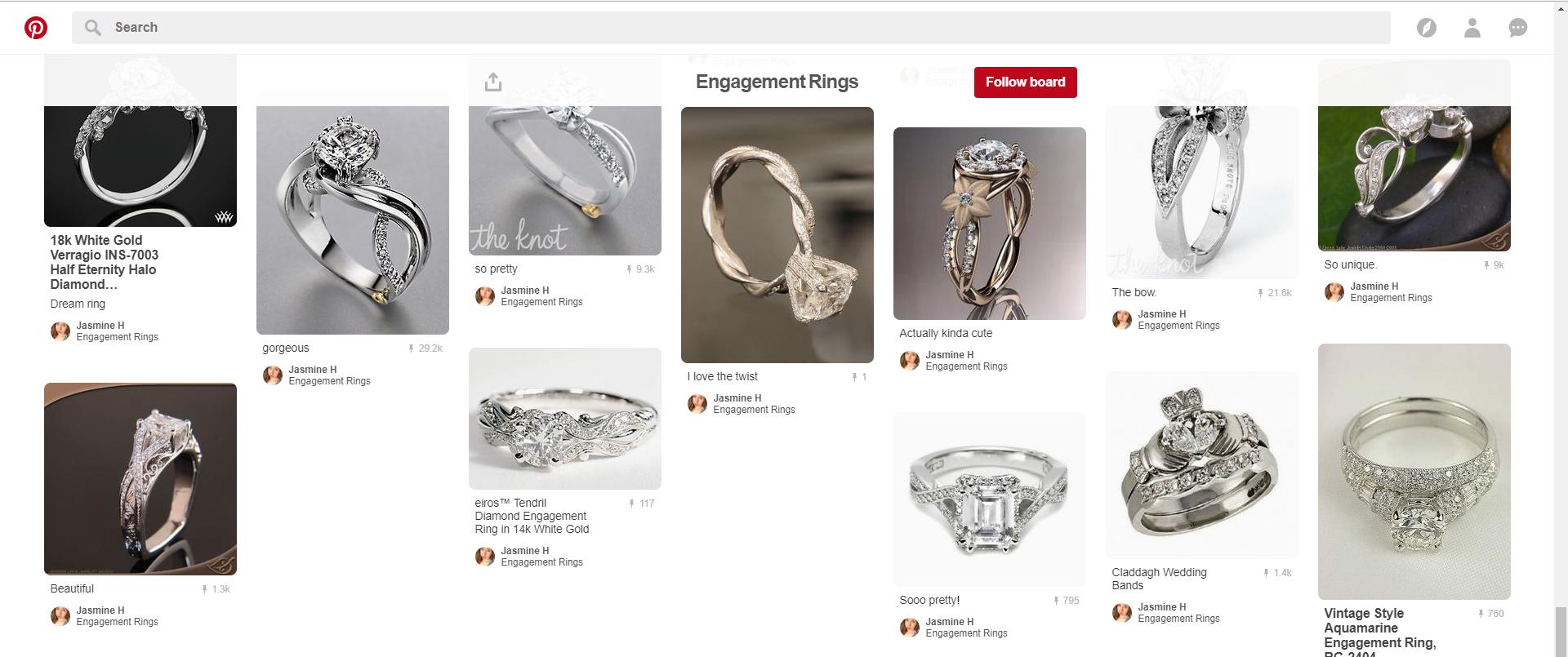 Perfect Pinterest Rings