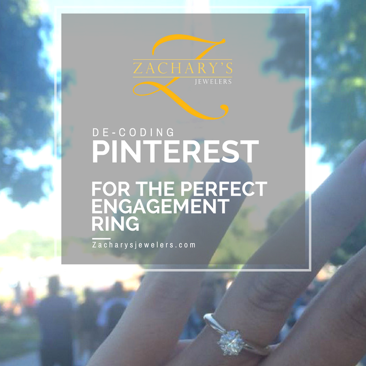 Decode Pinterest for the perfect engagement ring