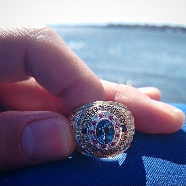Miss America the USNA Class Ring