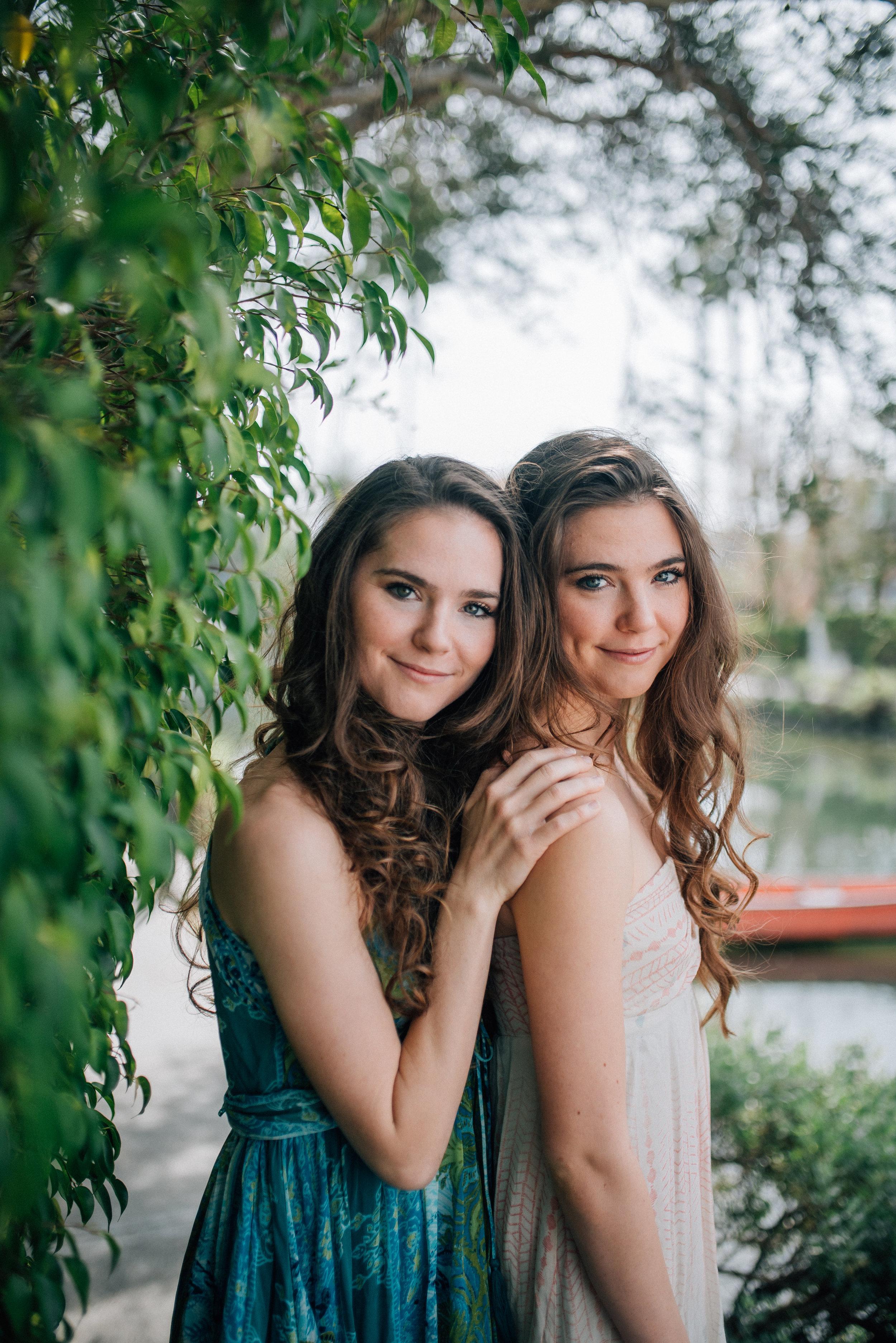 Nina and Randa Nelson