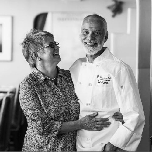 Cindy and Ted Walter of Passionfish
