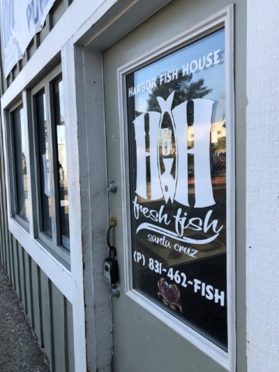 H & H Fresh Fish Co.'s new retail storefront in the Harbor.