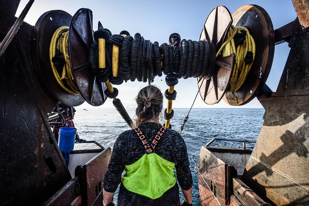 Joeleen Lambert Skinner 'Fisherman/Fisherwoman.'  Photo credit: David Hills 2018 (Fishy Pictures)
