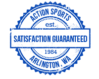 action sports, arlington washington satisfaction guaranteed seal of approval
