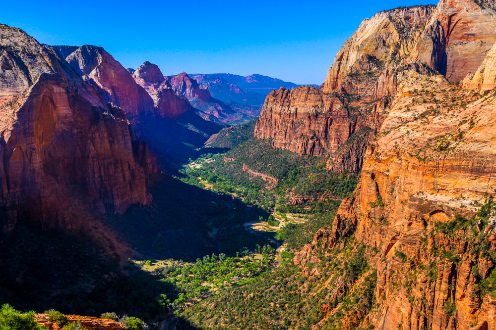 From Angel's Landing, Zion National Park