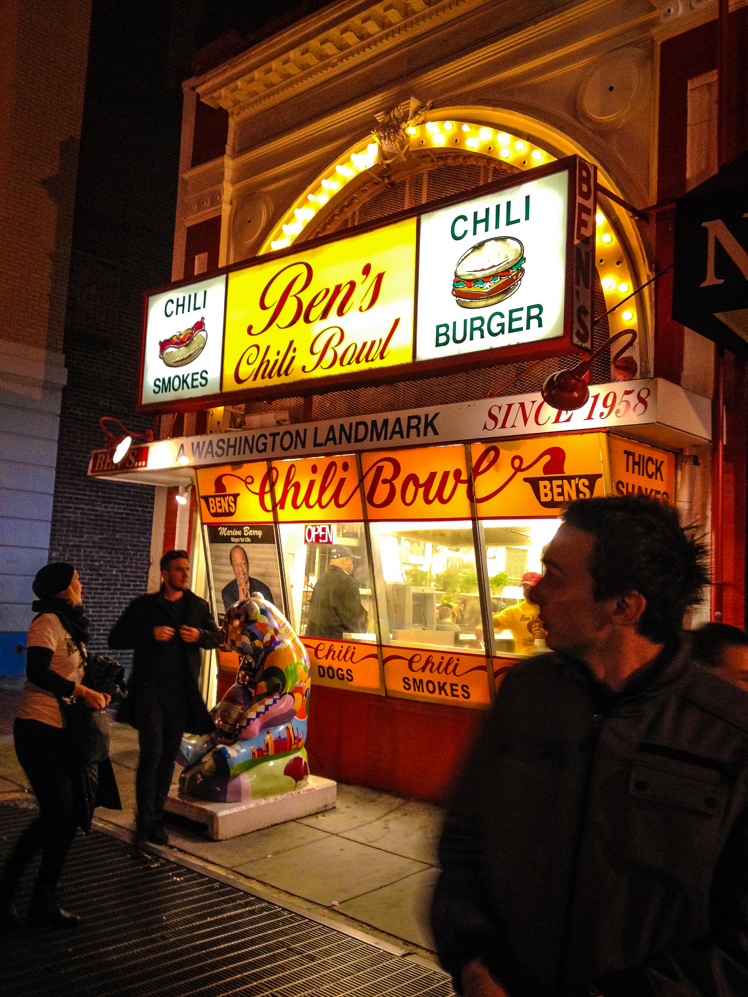 Ben's Chili Bowl - A Must!