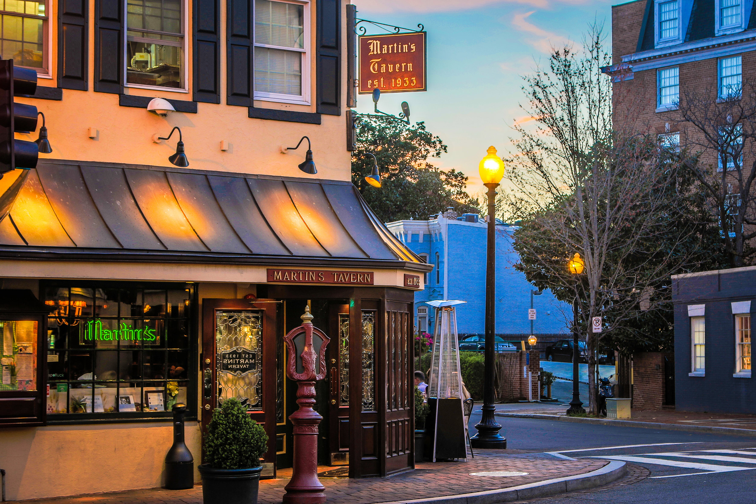 Martin's Tavern in Georgetown