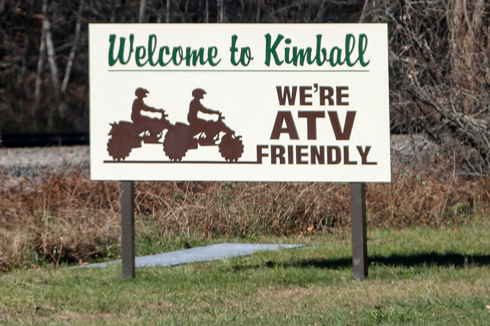 Most Towns Were ATV Friendly