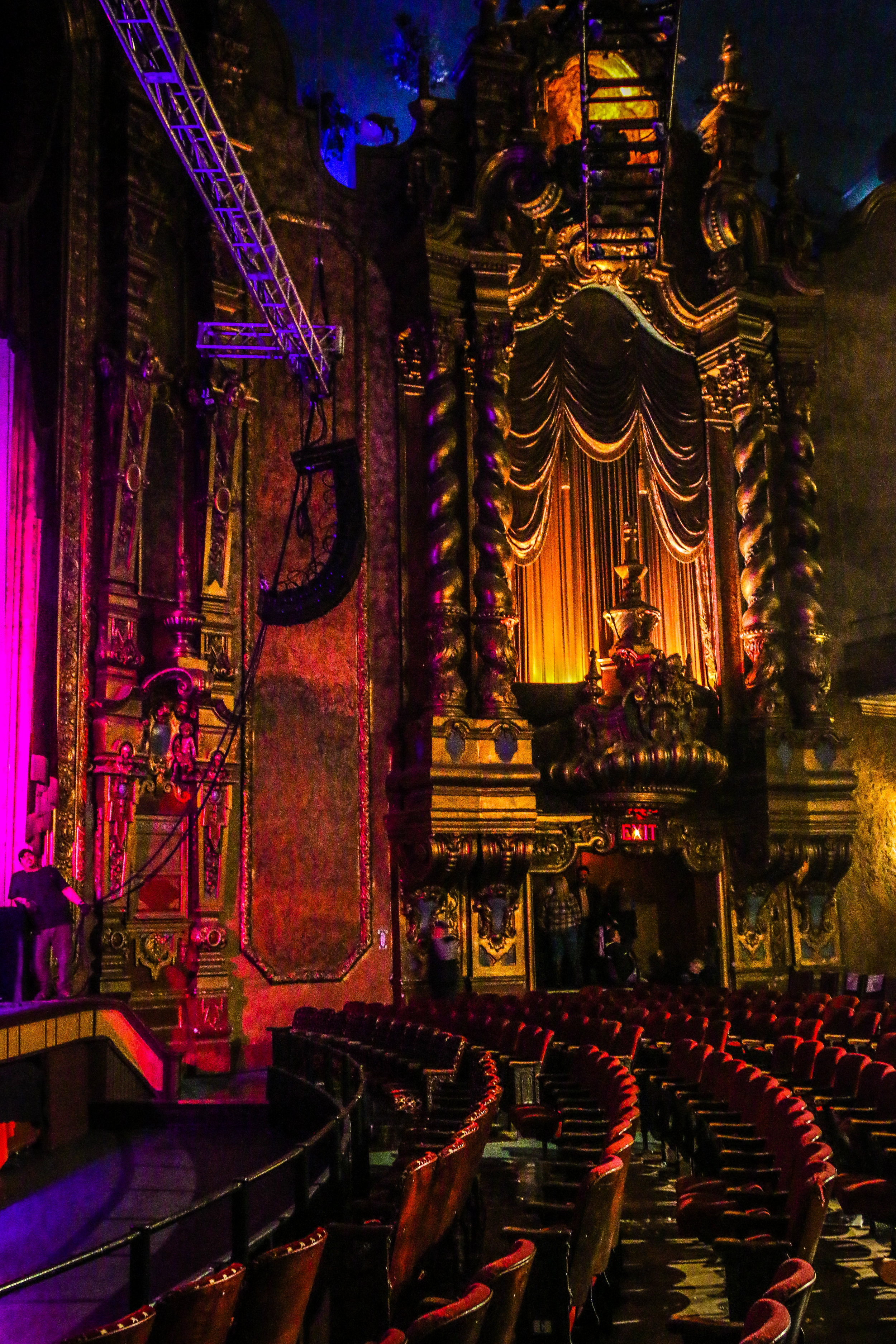 Inside Keith Albee Theatre
