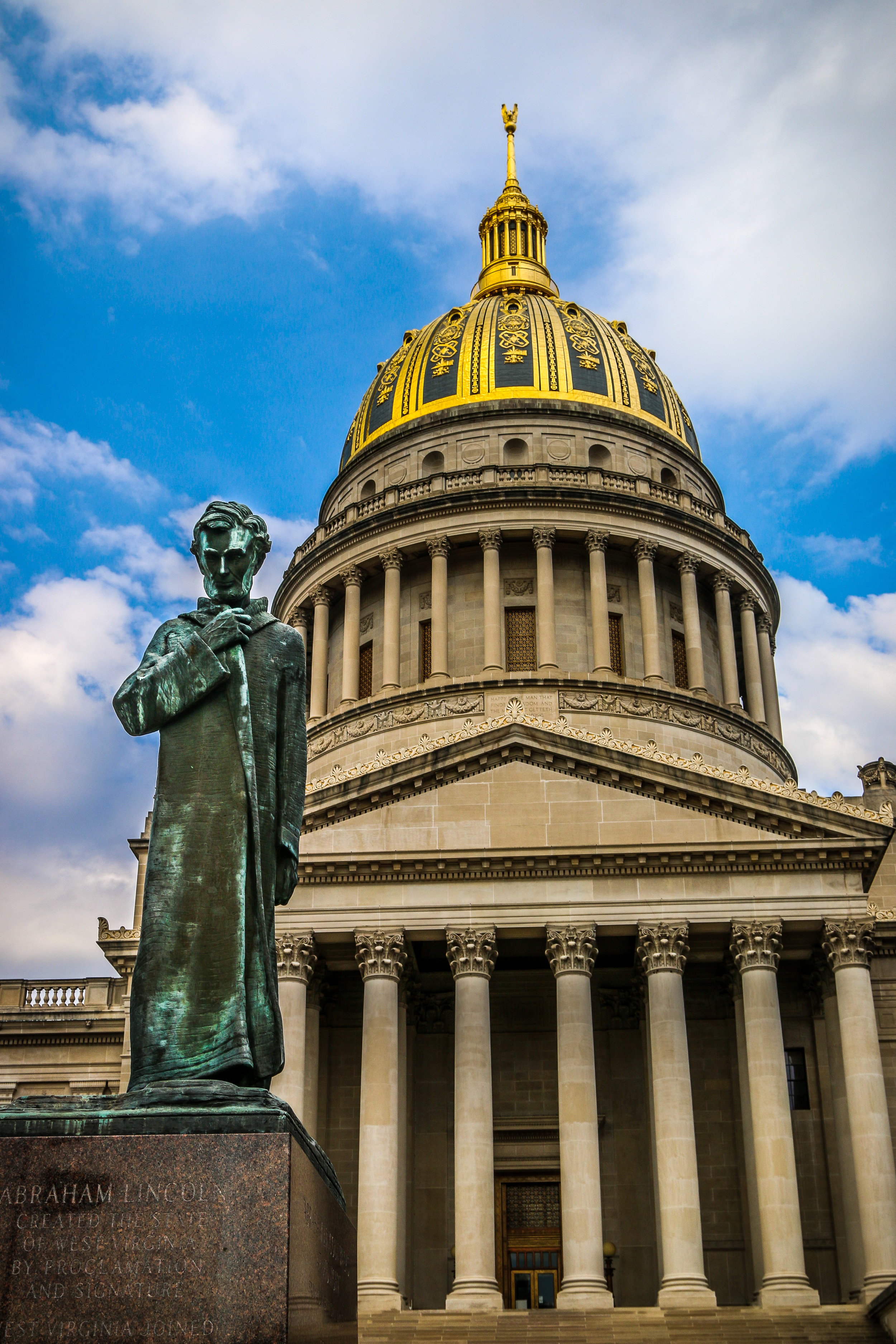 Lincoln Walks at Midnight, WV State Capitol