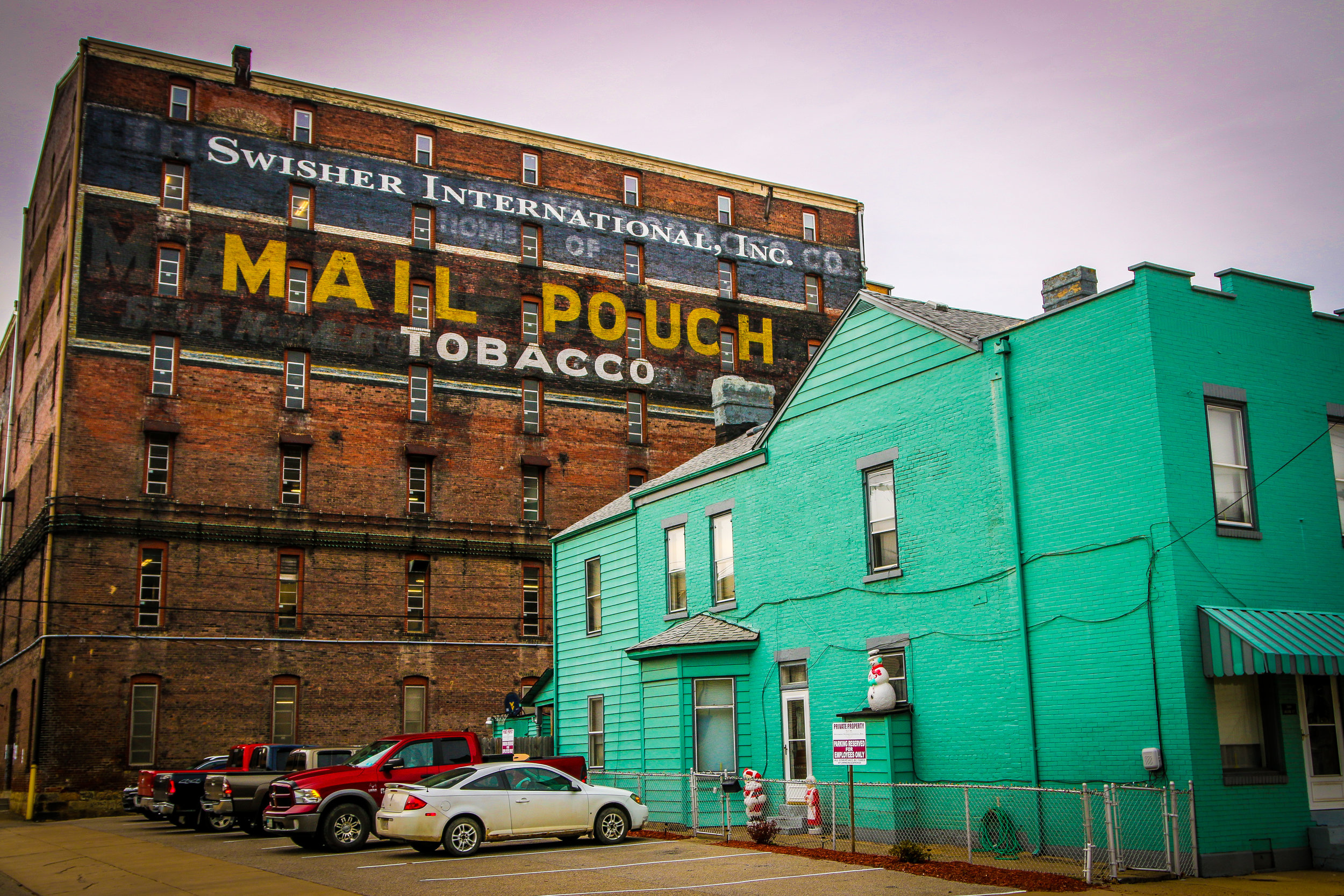 Mail Pouch Tobacco, Wheeling