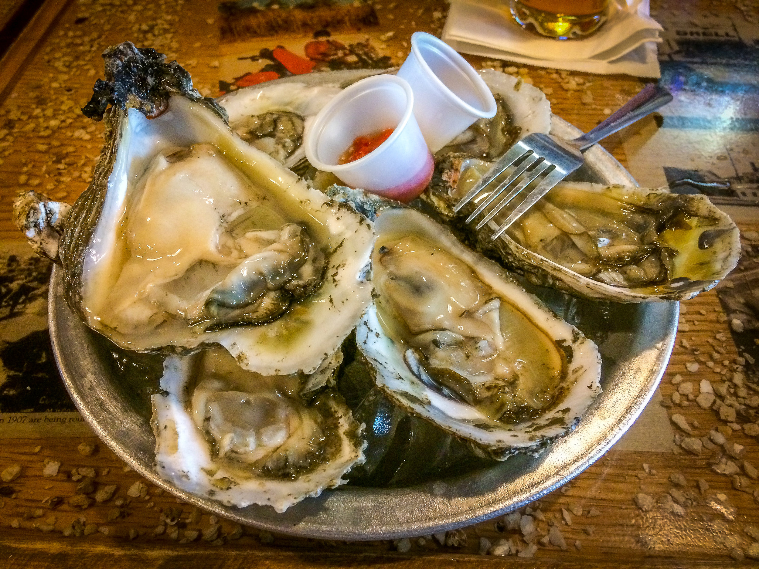 Fresh North River Oysters