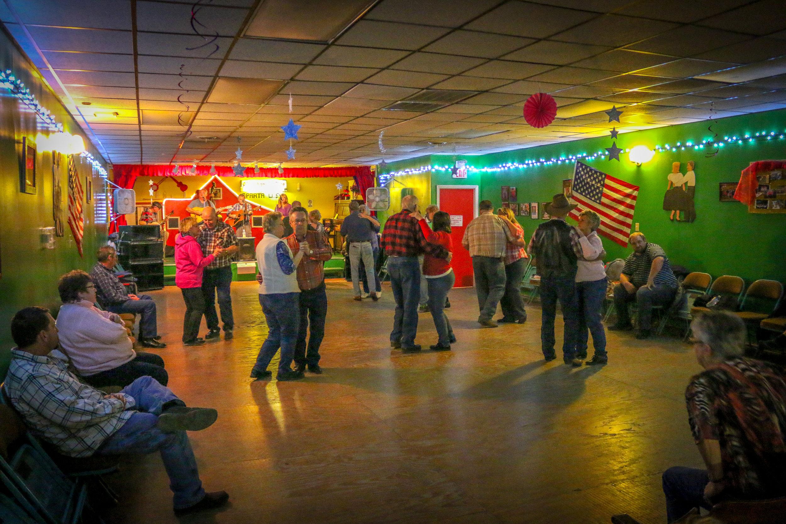 Alleghany Jubilee Dancing