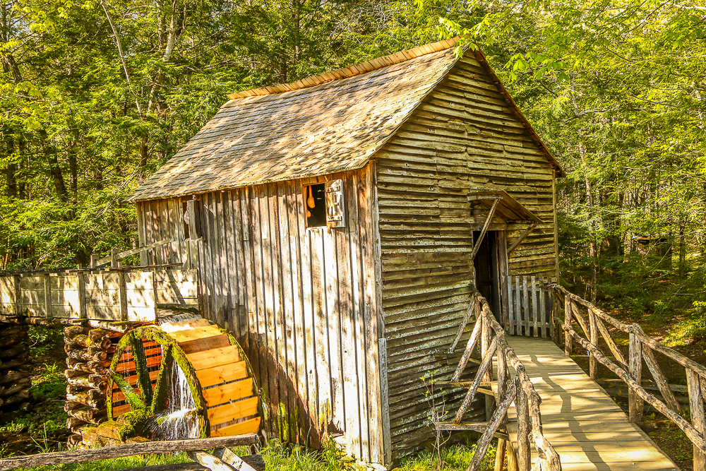 Mill in Cade's Cove in Great Smoky Mountain National Park