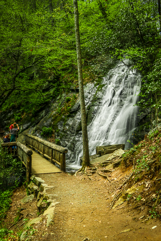 Juney Whank Falls off of Deep Creek Road in NC