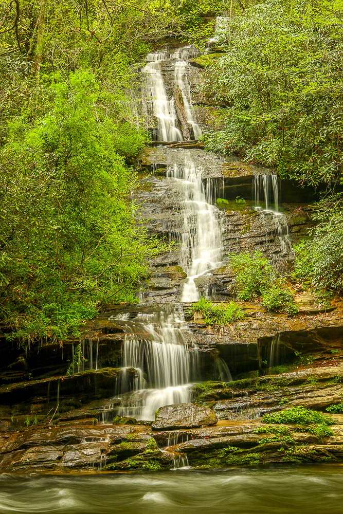 Tom's Branch Falls, NC