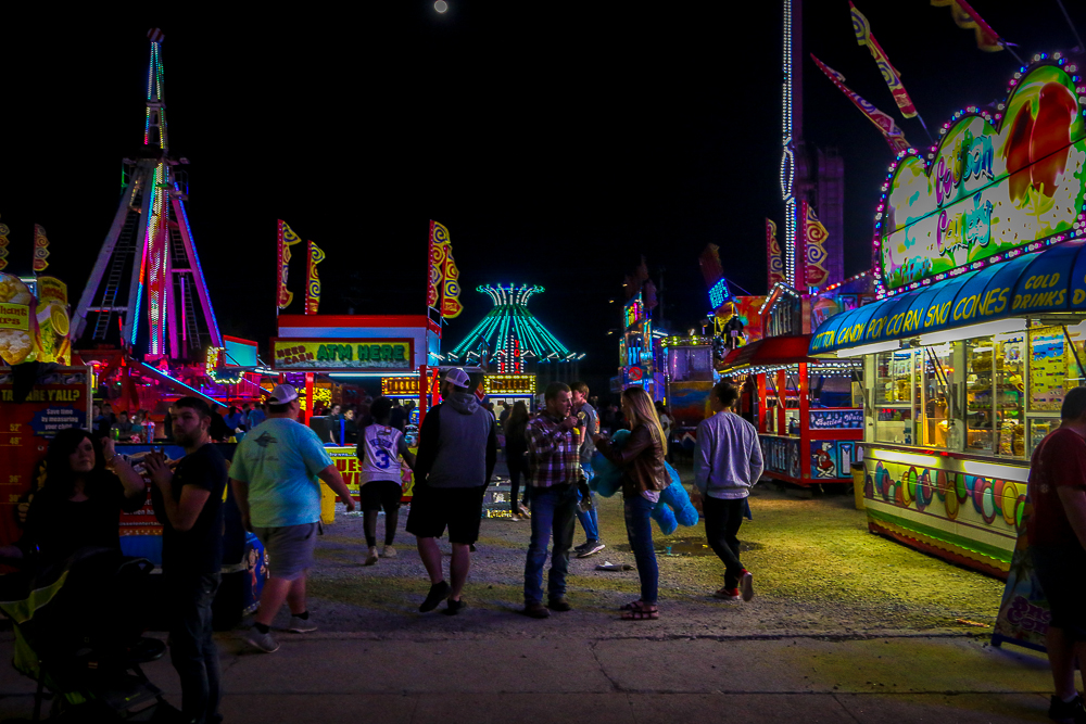 The Carnival at Night