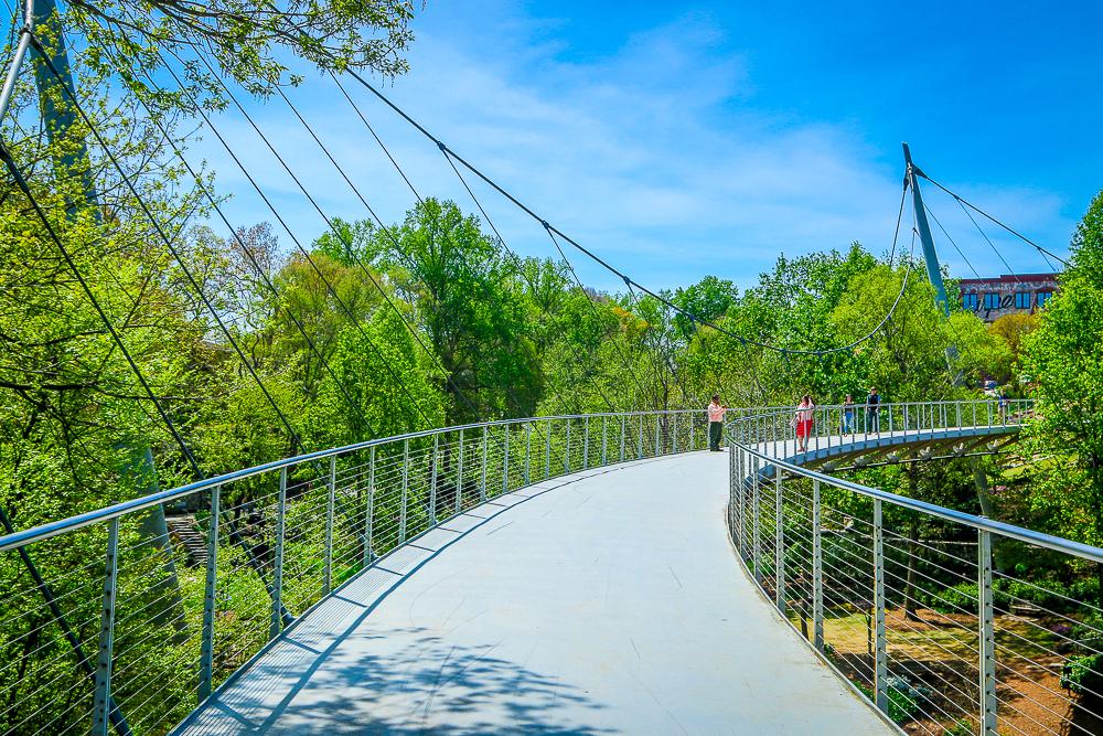 Liberty Bridge in Greenville