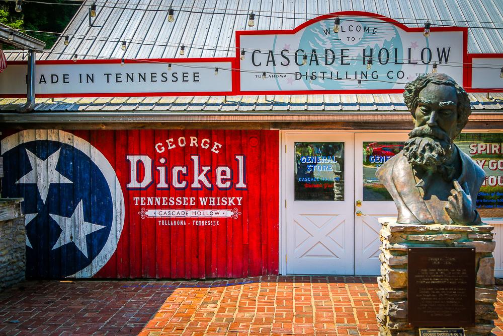 Cascade Hollow Dickel Distillery