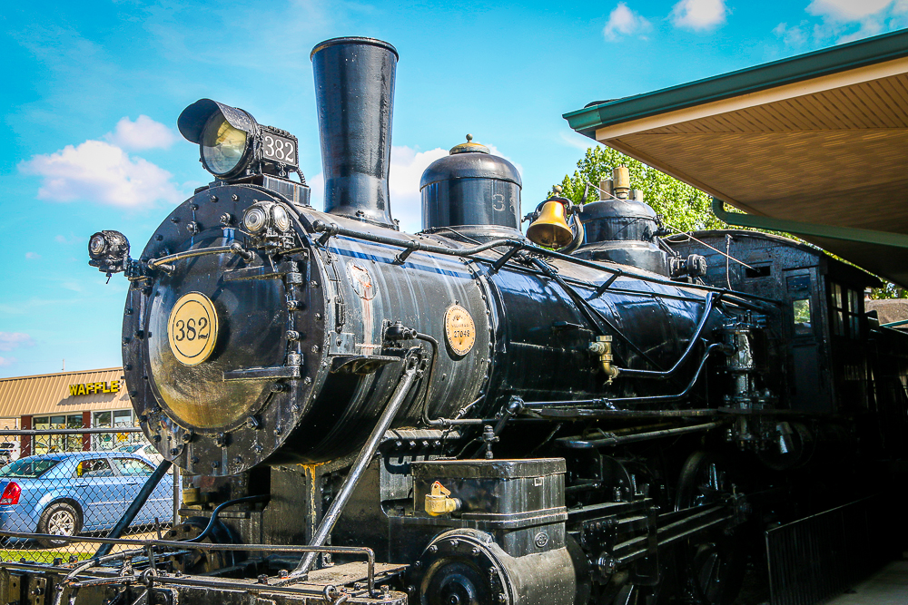 A Reproduction of Casey Jones' Engine 382