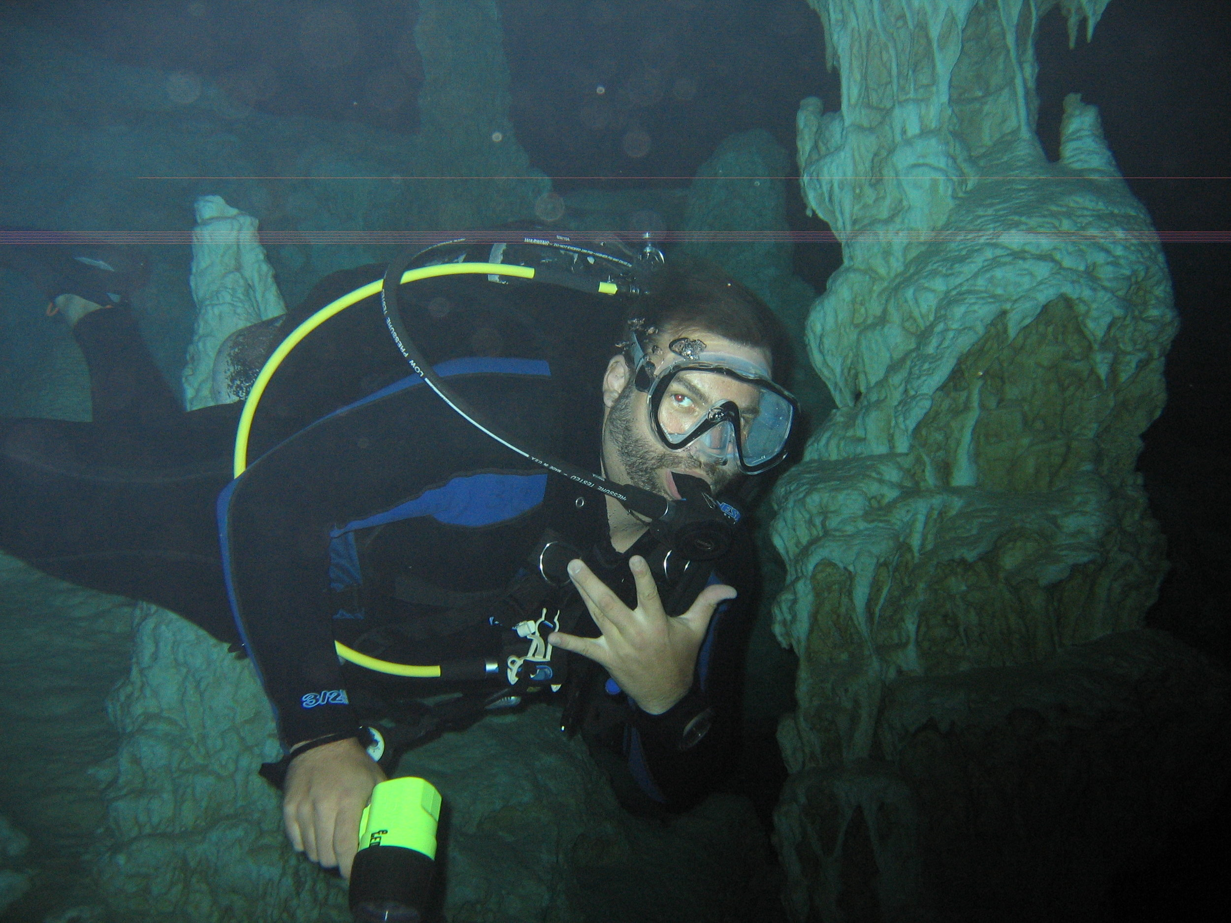 My First Cave Dive