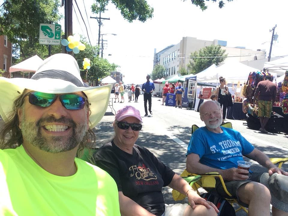 """Hanging With My Folks at the """"Blues"""" Fest"""