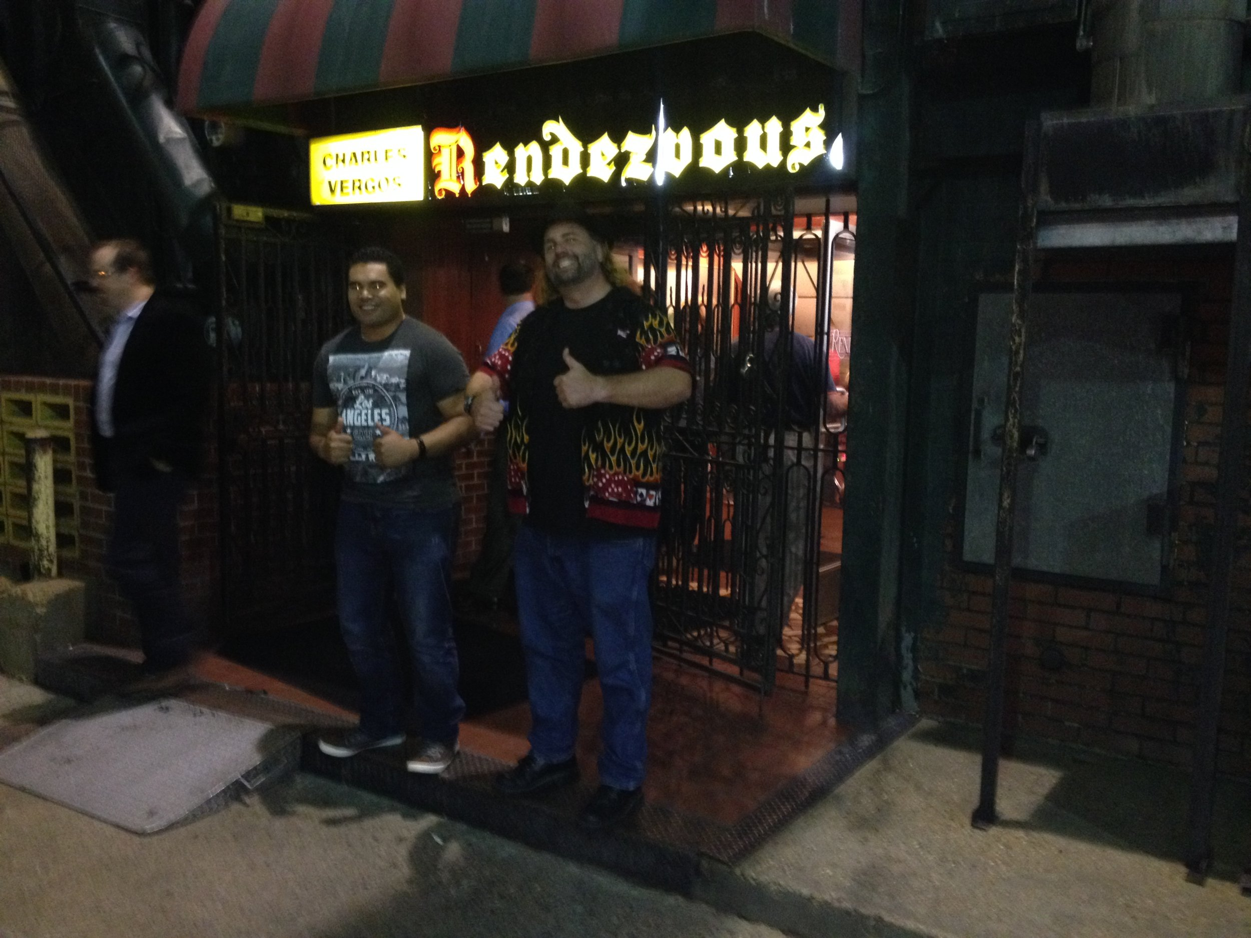Always a Smile On My Face When I'm at Rendezvous!