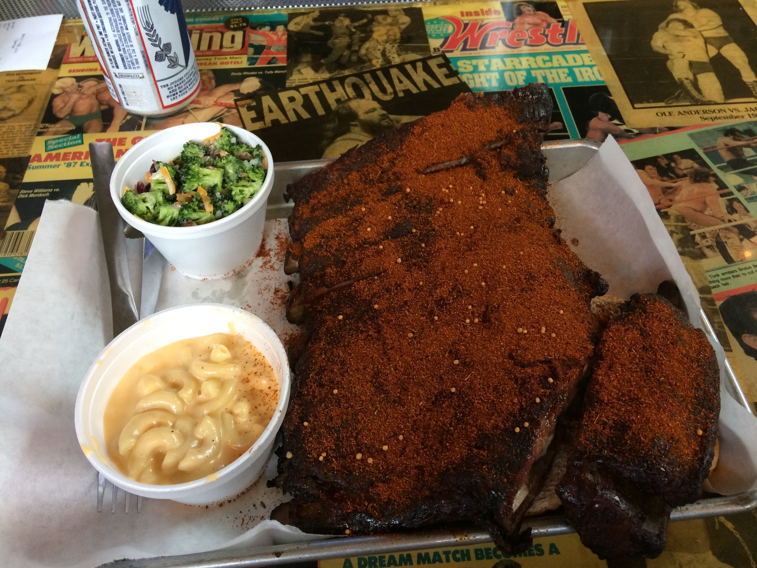 Martin's Dry Rubbed Spare Ribs