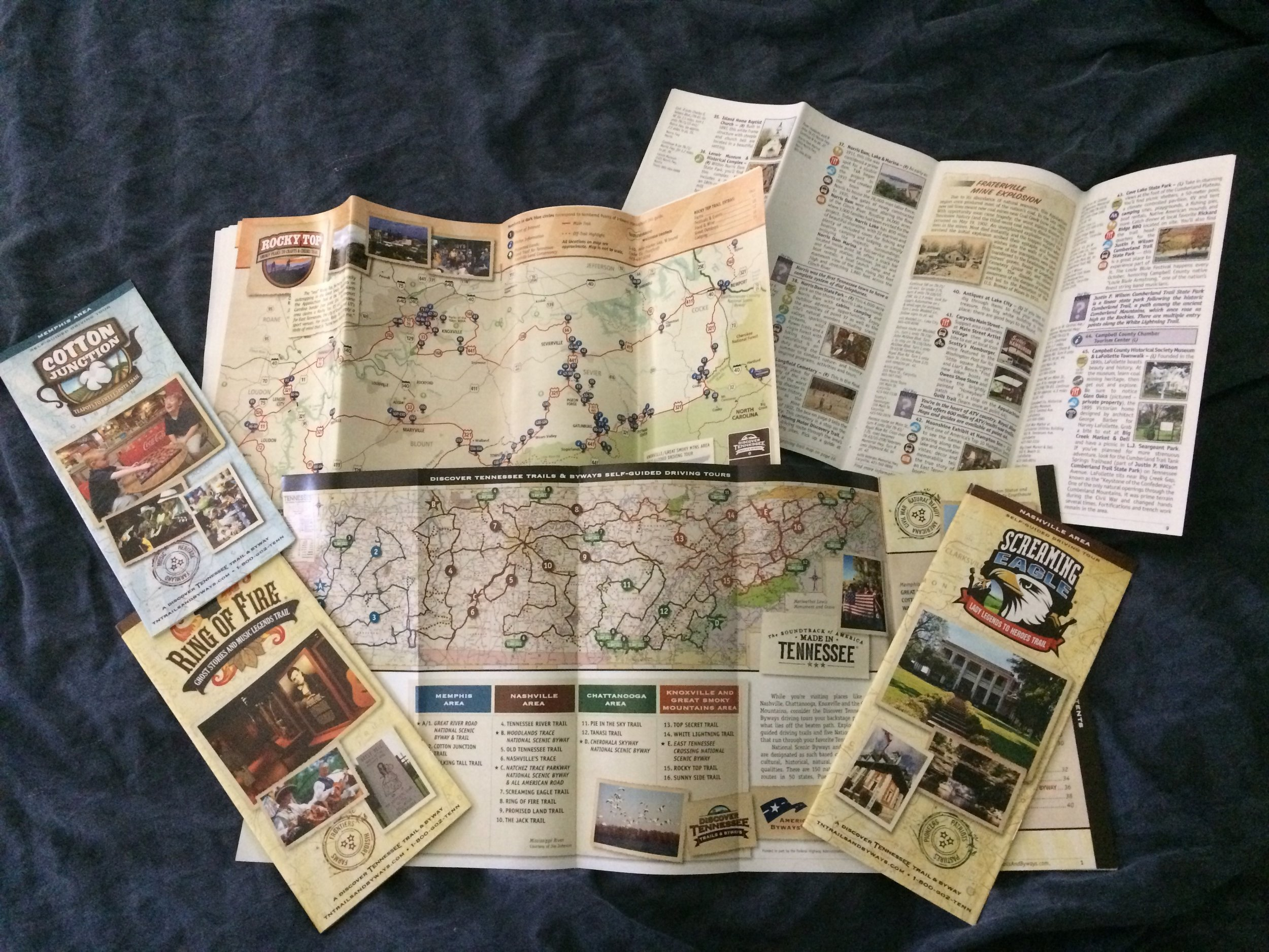 Tennessee Trails and Byways Maps and Brochures