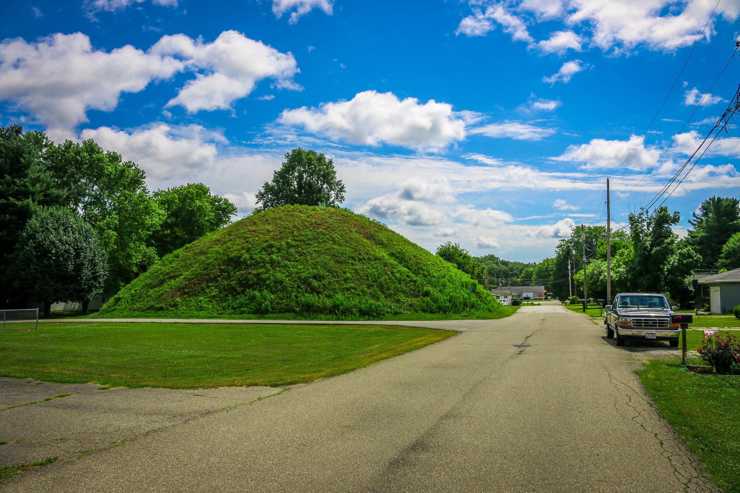 Hartman Mound in The Plains