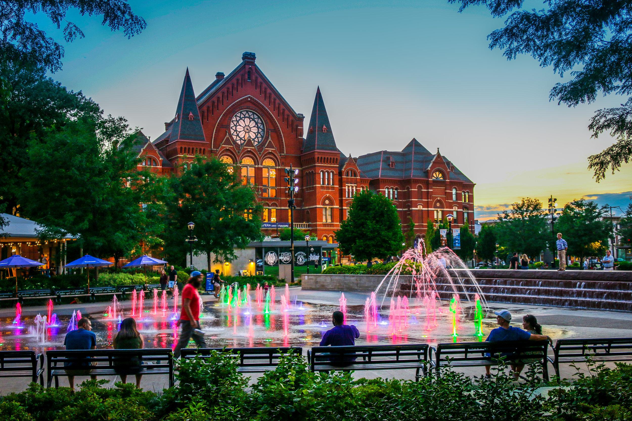 Cincinnati's Amazing Music Hall!