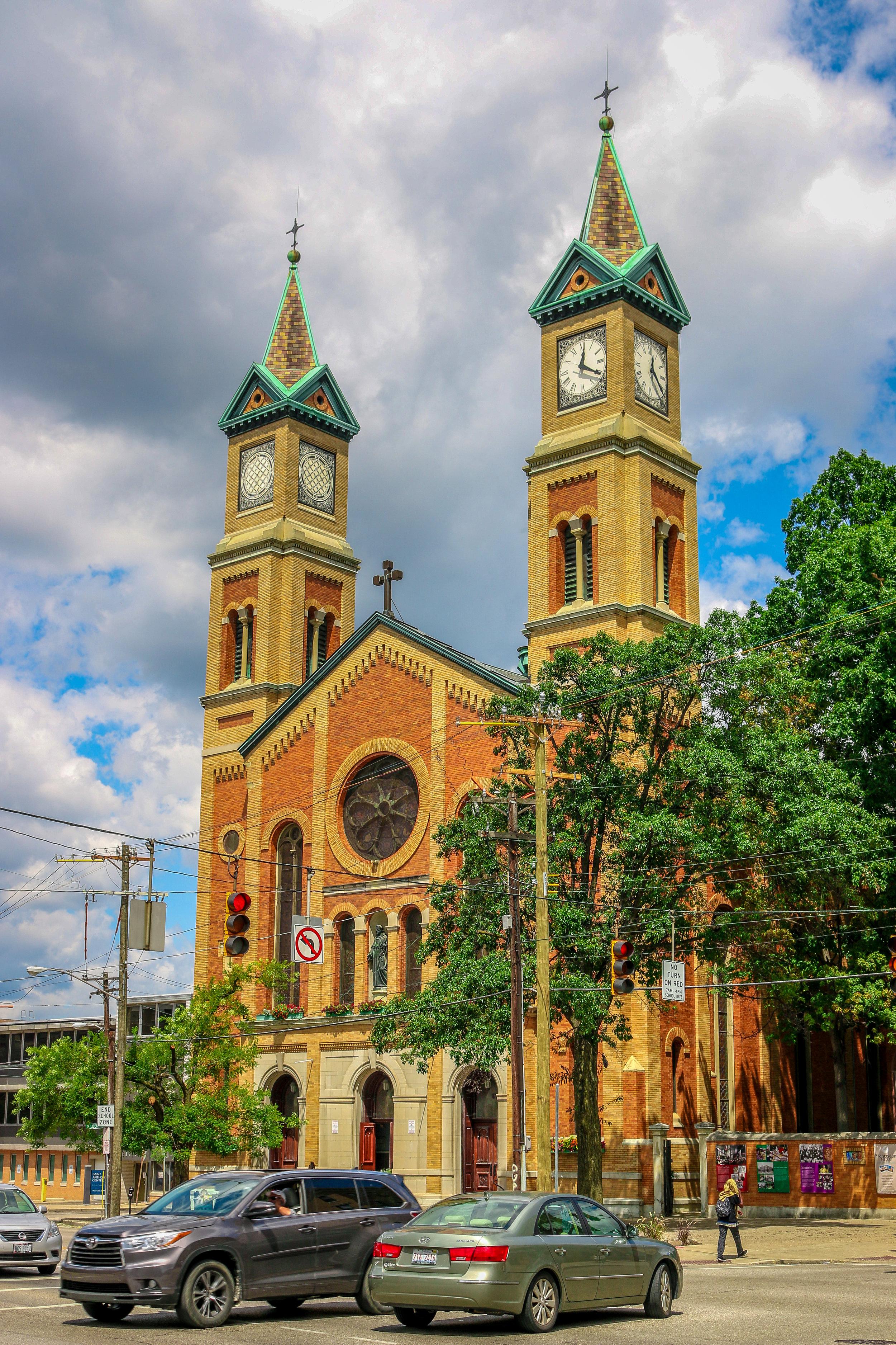 church over the rhine brick cincinnati ohio