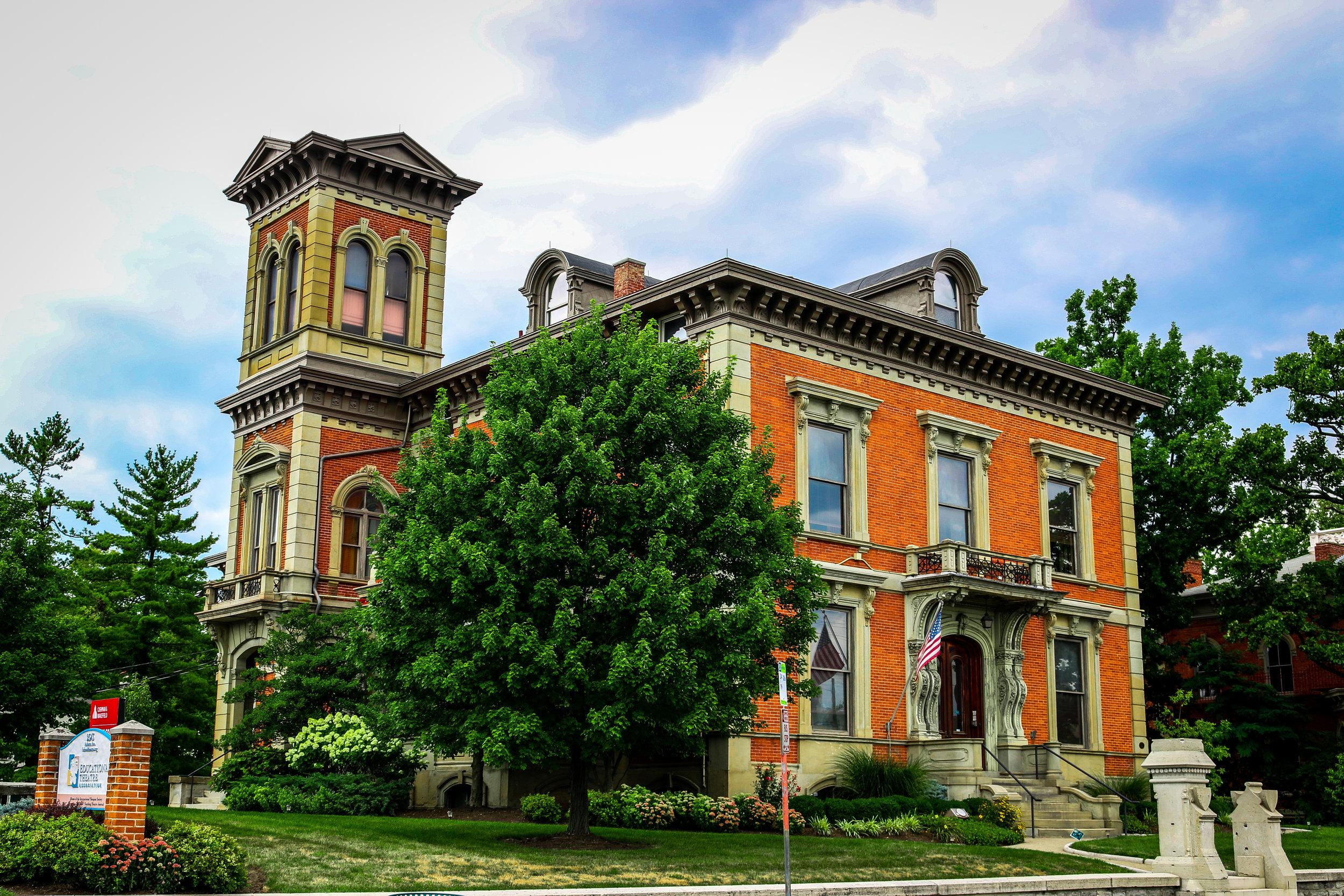beautiful old house cincinnati ohio