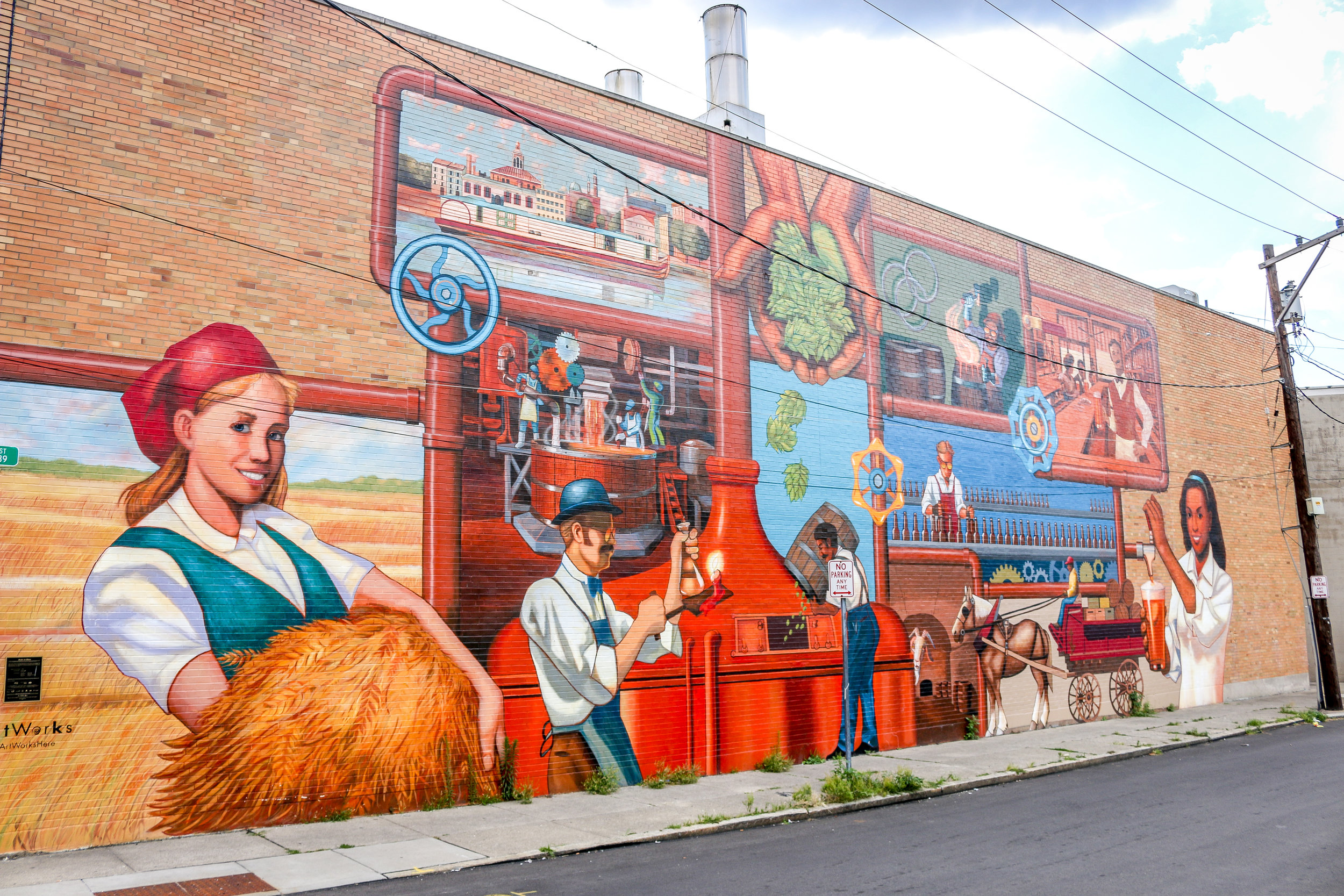 german beer mural cincinnati ohio