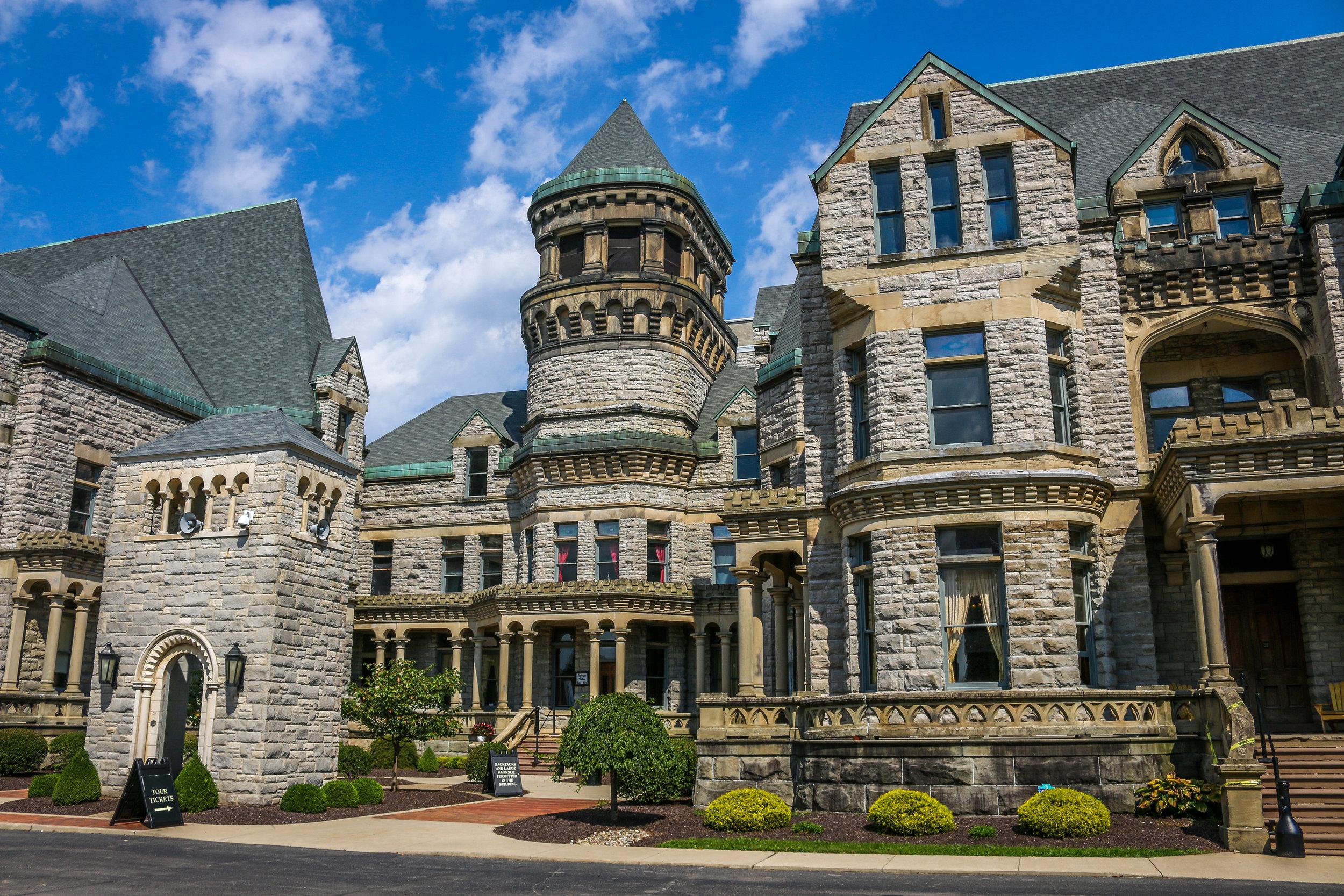Ohio State Reformatory Mansfield Ohio OH Shawshank