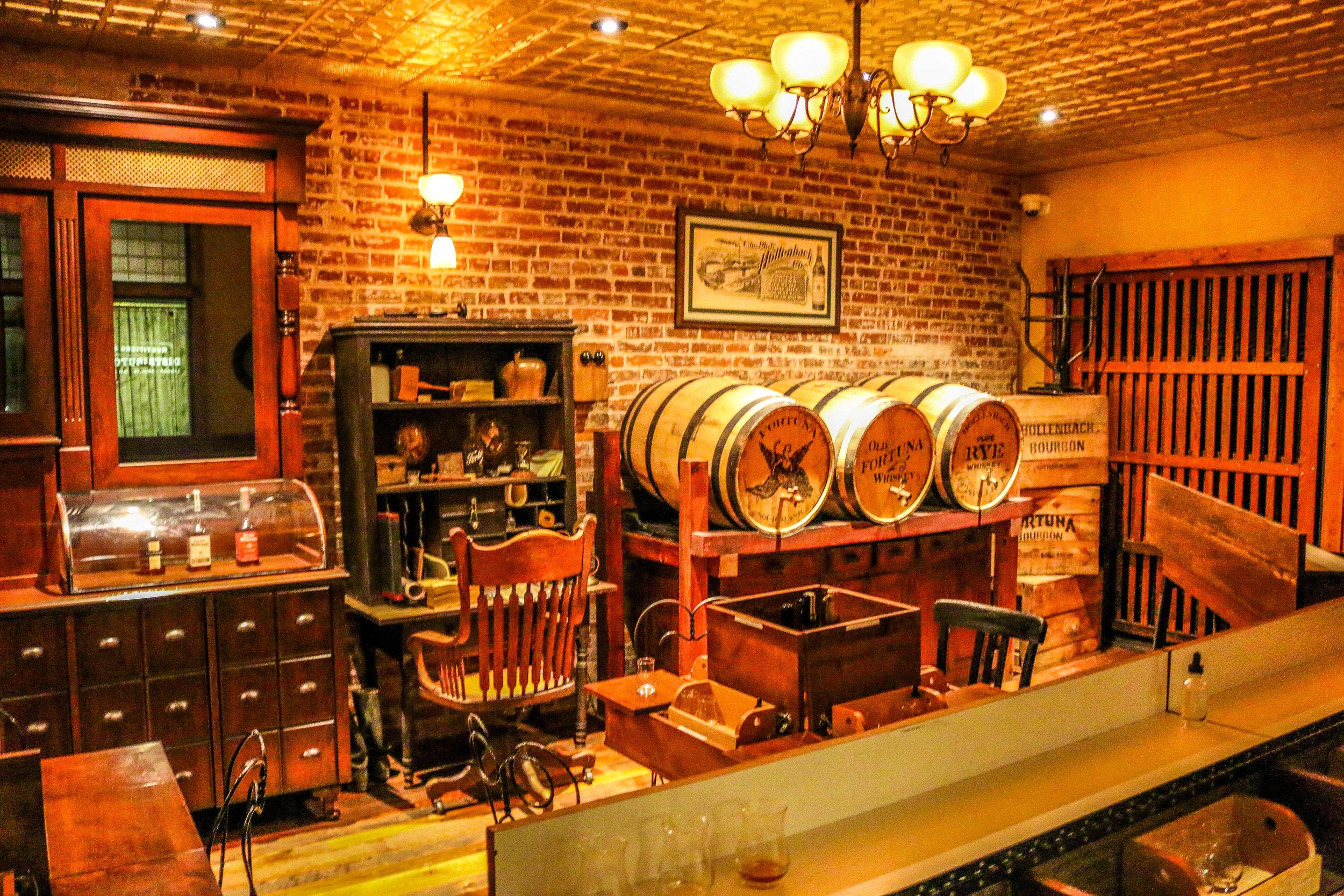 Evan Williams Tasting Room