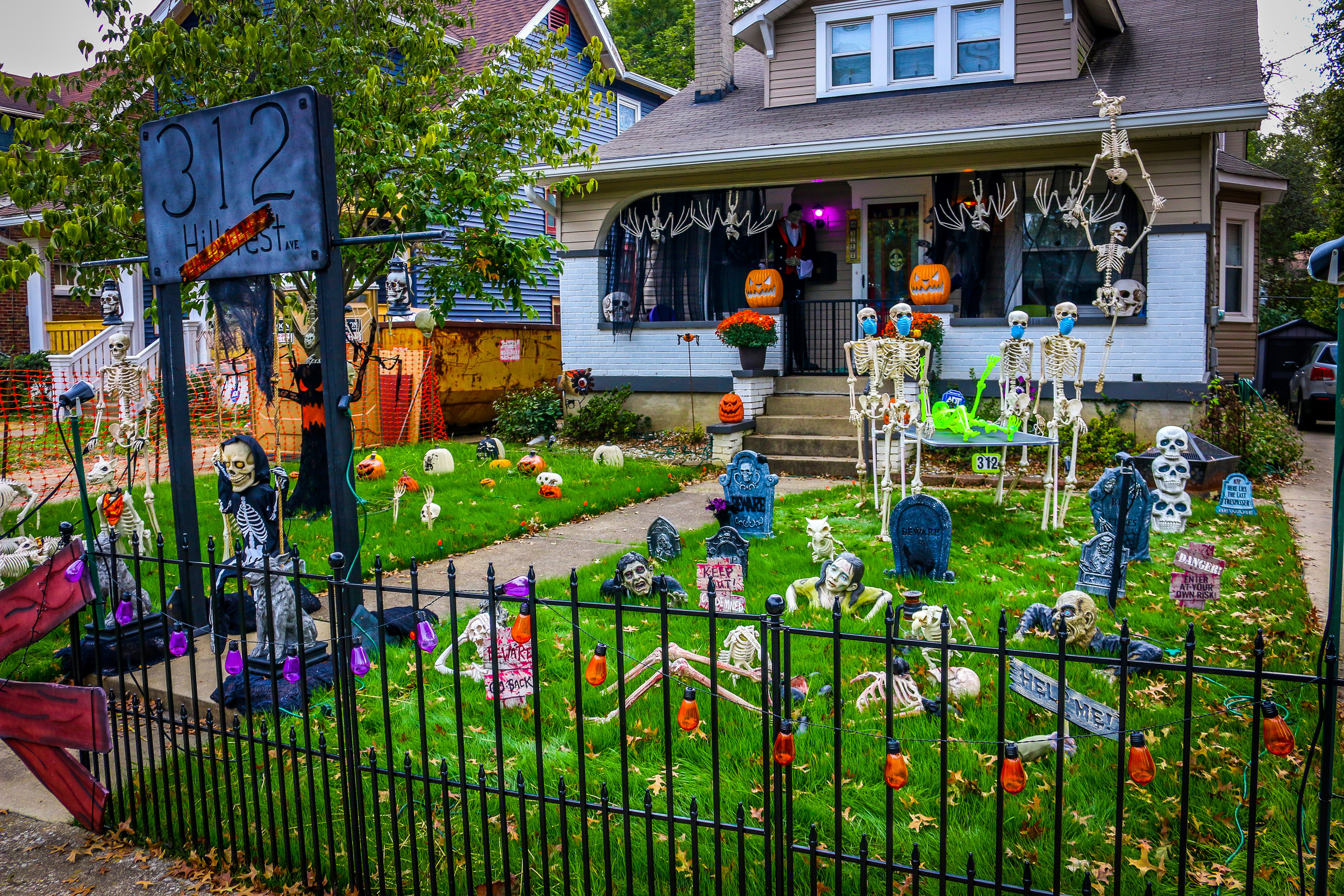 Halloween on Hillcrest Avenue