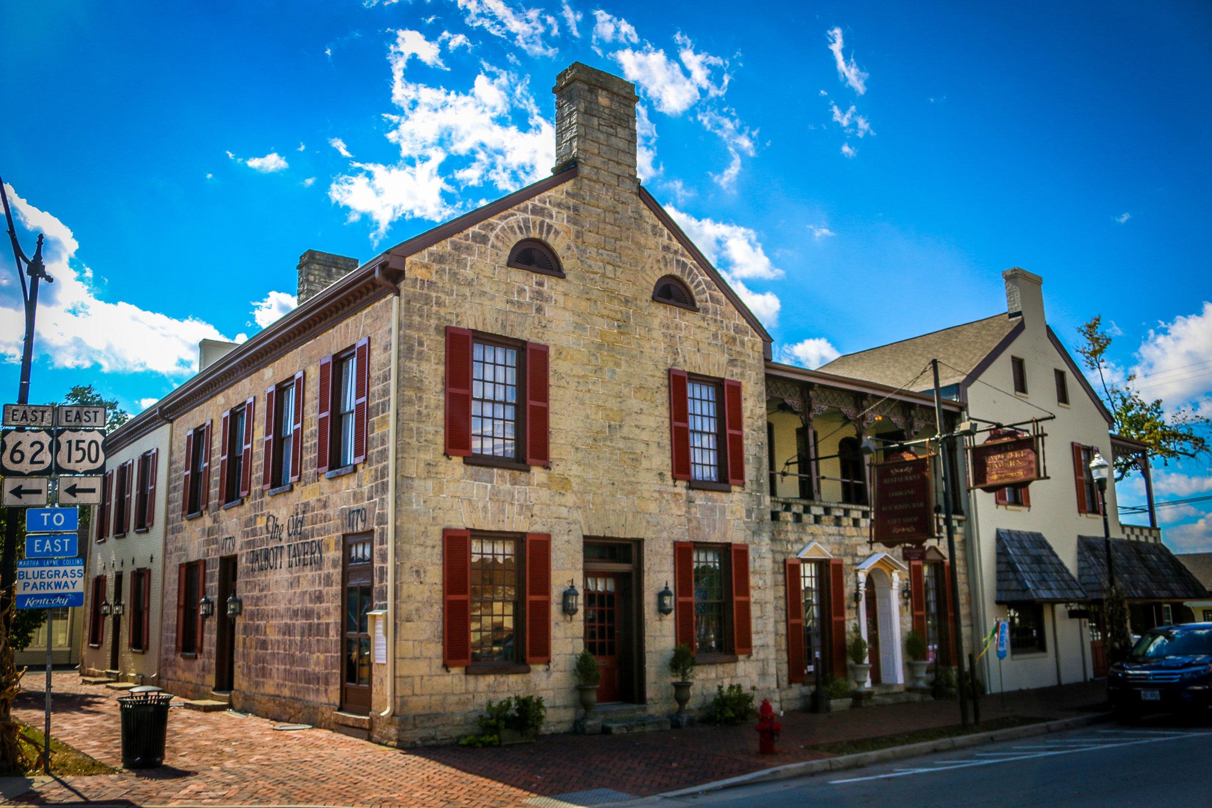 Historic Talbot Tavern in Bardstown
