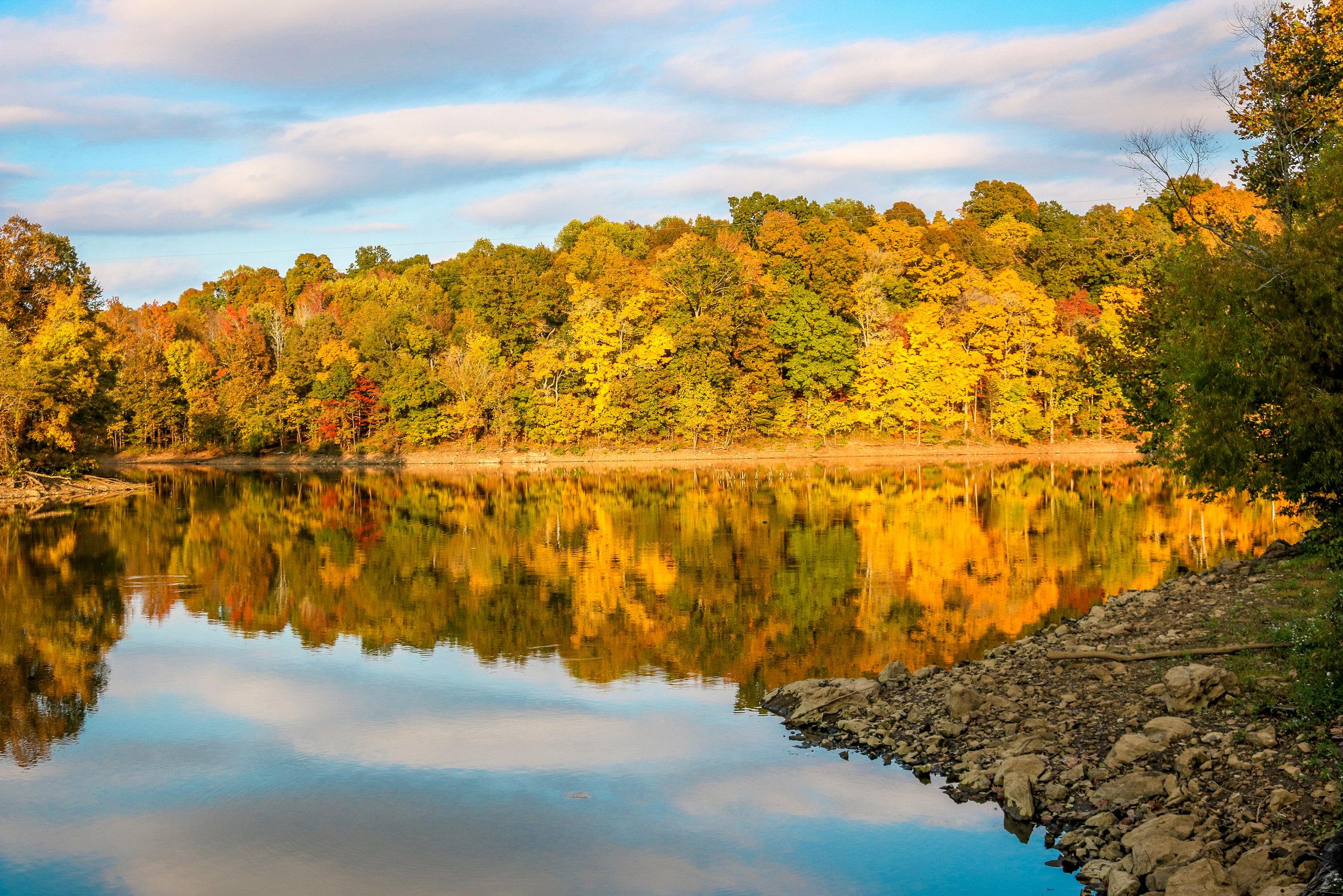 Fall Colors in Western Kentucky