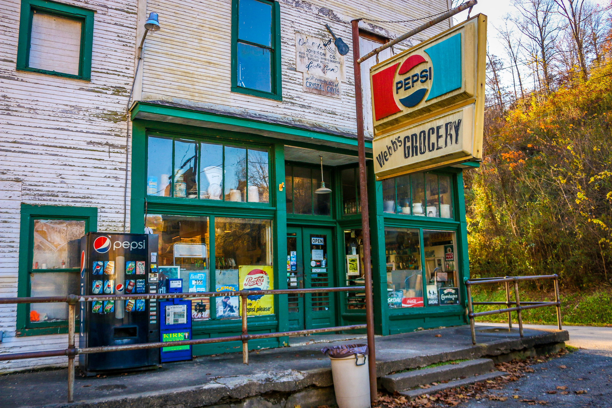 Webb's Grocery in Butcher Hollow