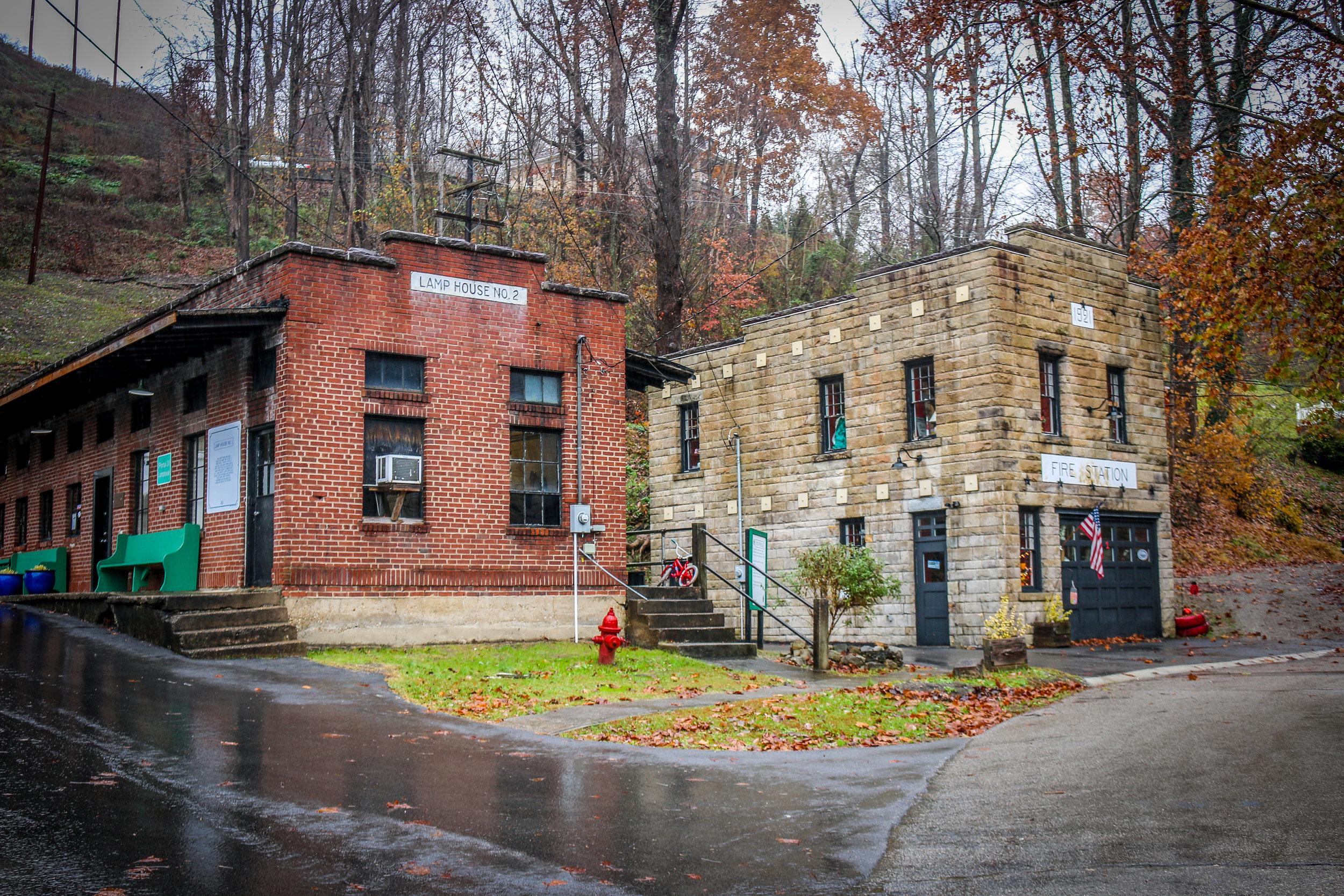 Coal Buildings in Lynch