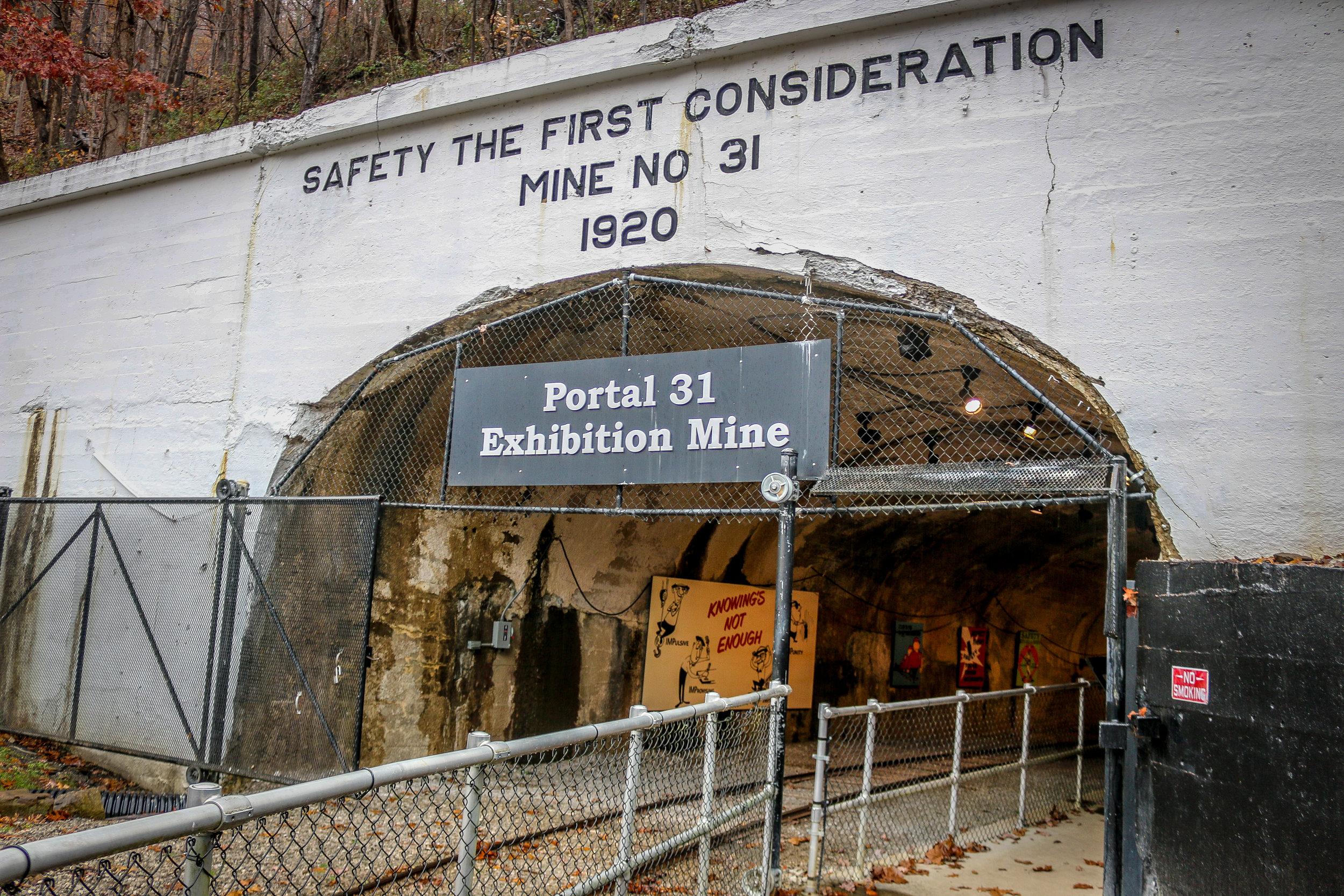 Portal 31 Mine - Takes You Underground!
