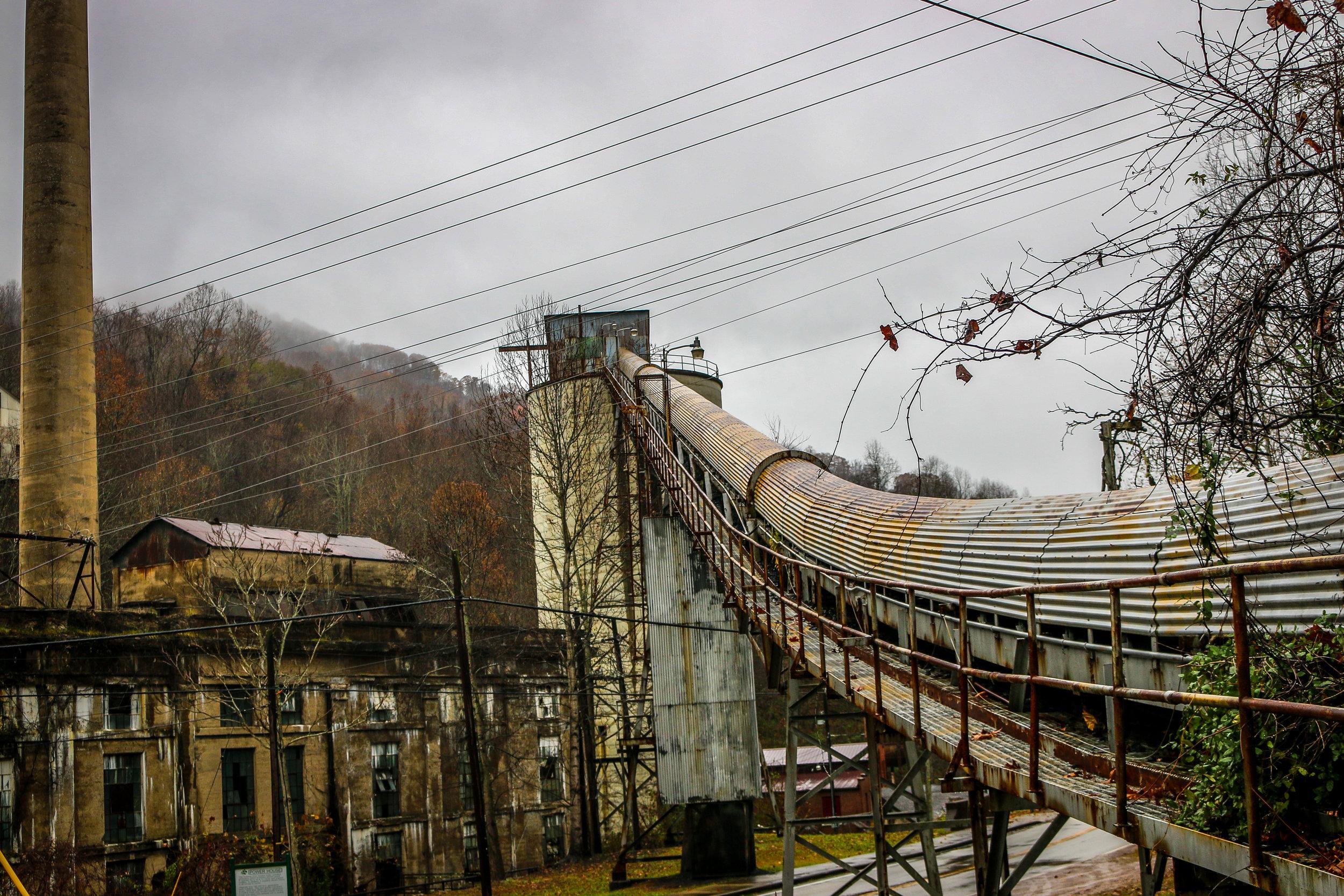 Coal Tipple in Lynch, KY