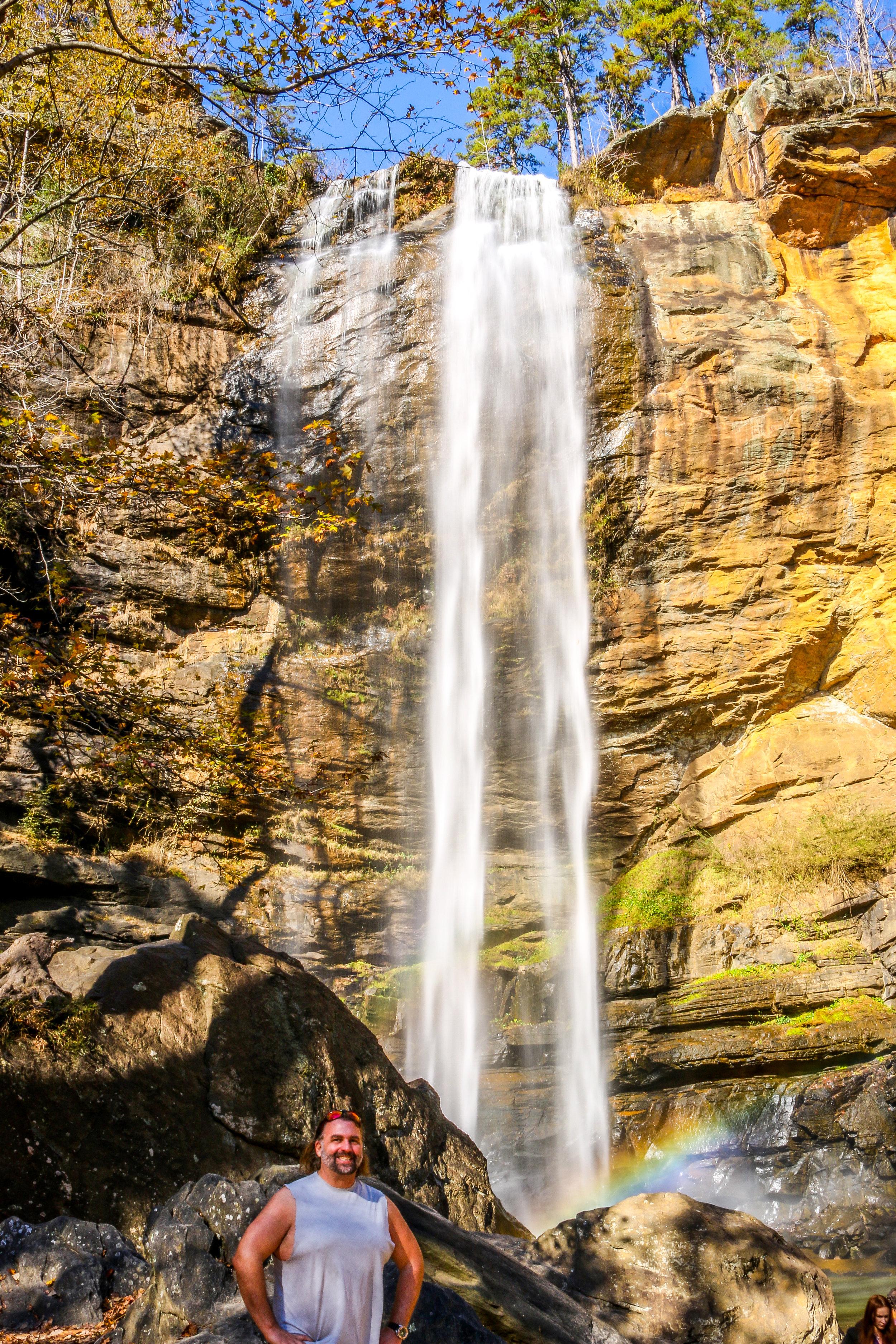 Rare Self Portrait - Toccoa Falls