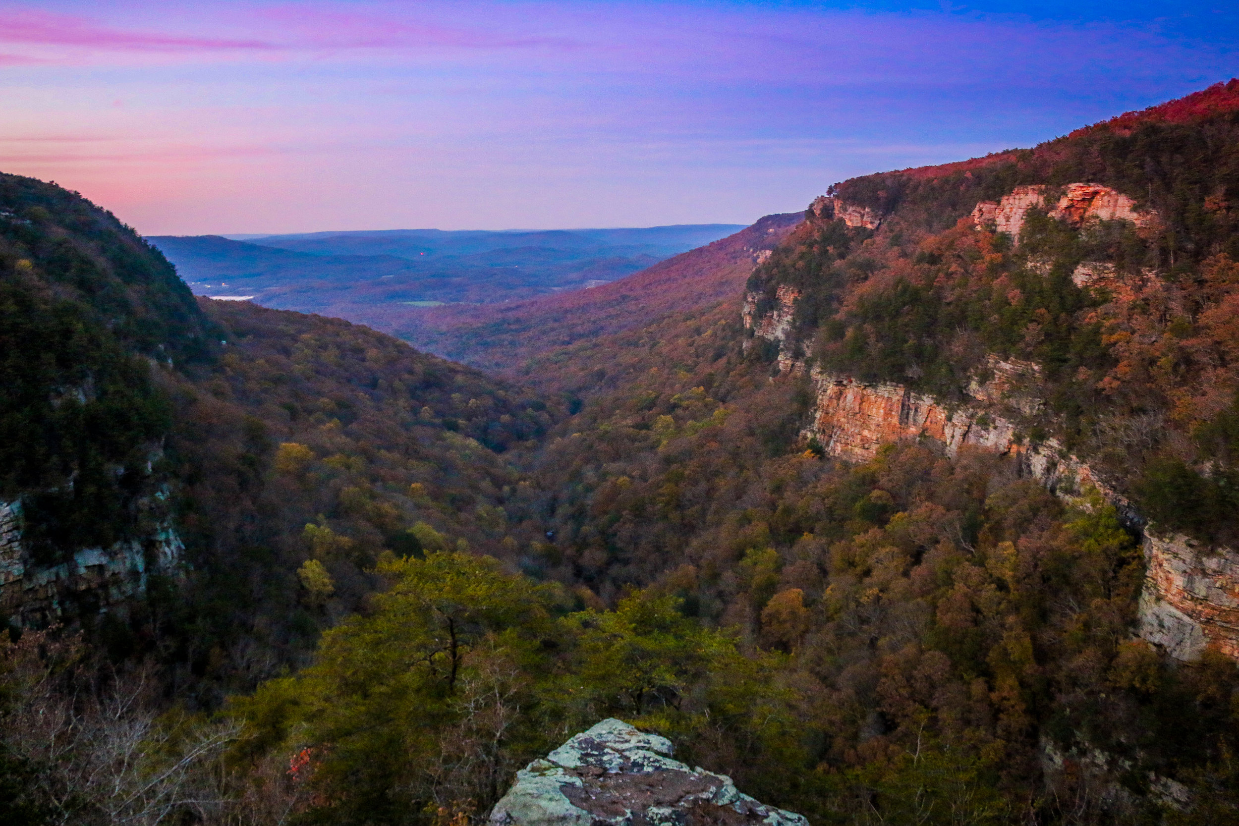 cloudland canyon state park georgia ga
